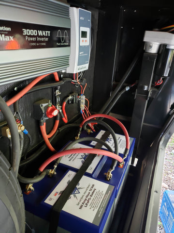 Eliminating Our RV Battery Anxiety - Lithium Upgrade Part 1