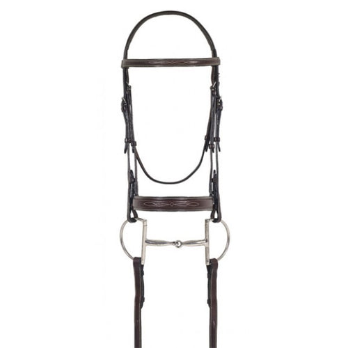 Ovation Elite Fancy Raised Comfort Crown Bridle
