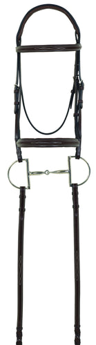 Camelot Gold RCS Fancy Raised Padded Bridle