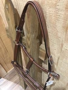 Prestige Fancy Stitched Leather Halter