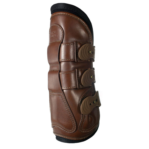 Majyk Equipe Leather Tendon Jump Boot with Snap Closure