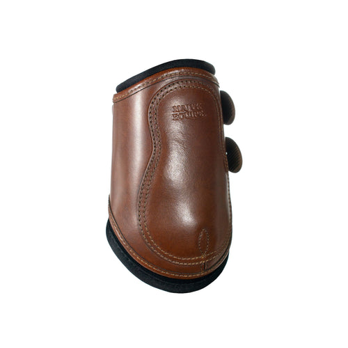 Majyk Equipe Leather Hind Jump Boot with Snap Closure