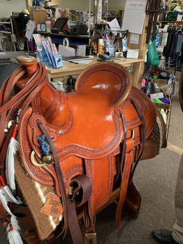 Beautiful Billy Cook western saddle with all the bells and whistles