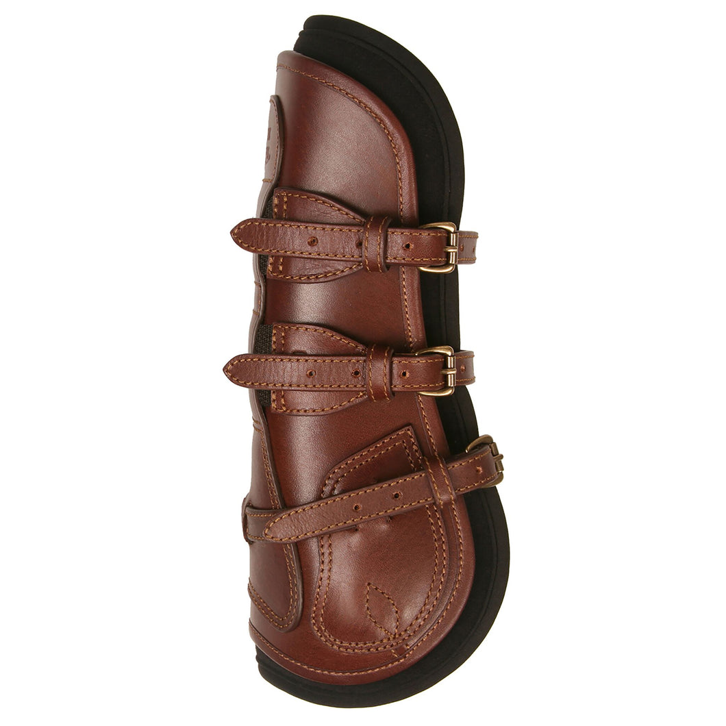 Majyk Equipe Leather Tendon Jump Boot with Buckles