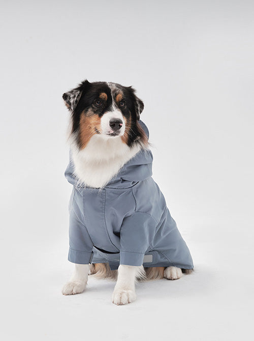 YOUGUN LEE - ADJUSTABLE RAINCOAT - LIGHT BLUE