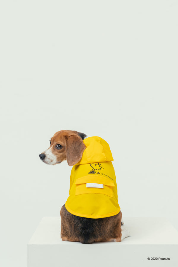 PEANUTS-SNOOPY RAINCOAT-YELLOW