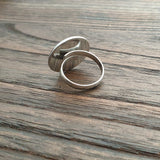 Custom Order for Gaynor: Stainless Steel Statement Ring