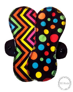 ECOBIRD MENSTRUAL CLOTH PADS 'MEDIUM CONTOUR'