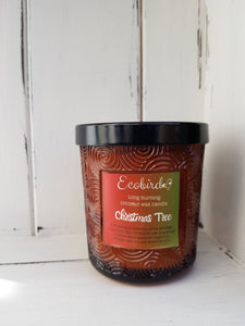Organic Coconut Wax Candles ~ Christmas Tree