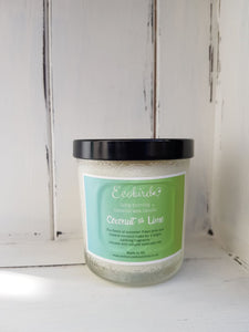 Organic Coconut Wax Candles ~ Coconut & Lime