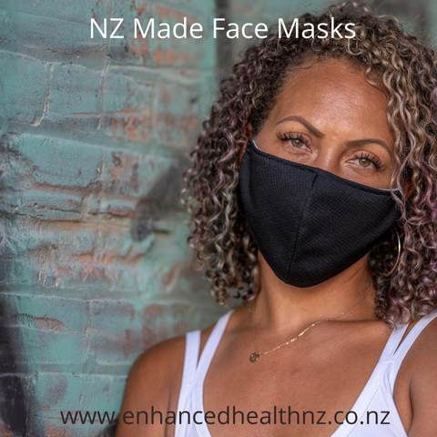 3 Layer Face Mask ~ NZ made ~ Large