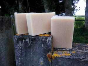 Goat Milk Soap Plain
