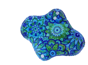 ECOBIRD MENSTRUAL PAD ~ Graceful Range ~ Moderate Flow (hidden waterproof backing)