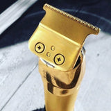 Gold Cordless Professional Hair & Beard Clippers