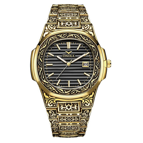 ONOLA Gold Stainless Watch