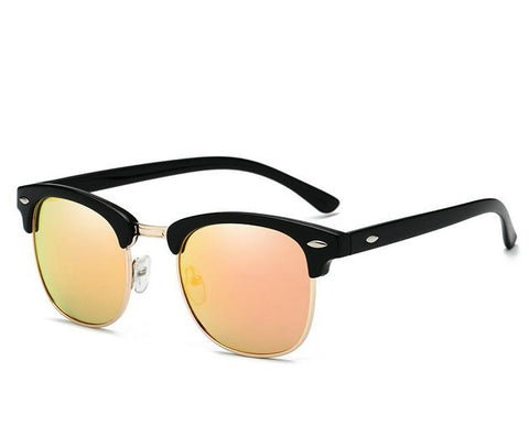 Polarized Rimless Sunglasses
