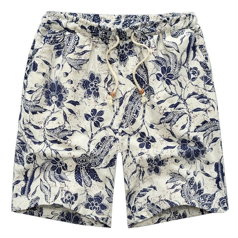 Mens Casual Printed Swim Shorts
