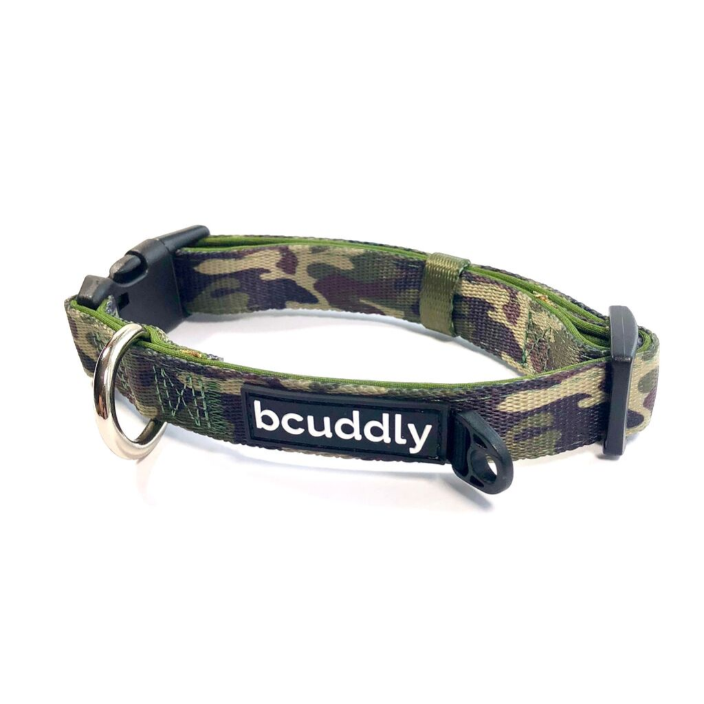 Dog Collar - Adventure (Camo Olive Green)