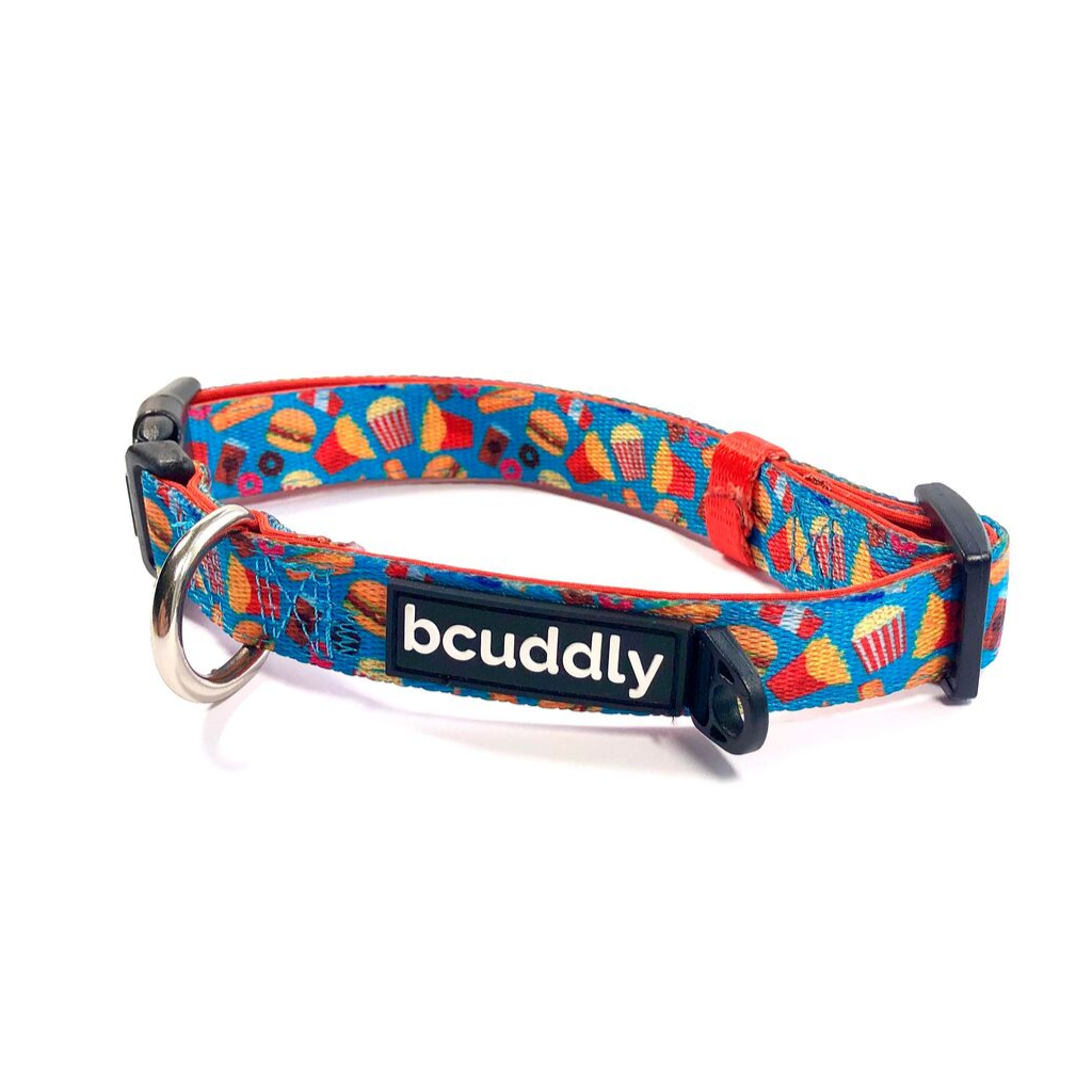 Dog Collar - Food Print