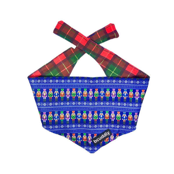 Dog bandana - Nutcracker & Plaid