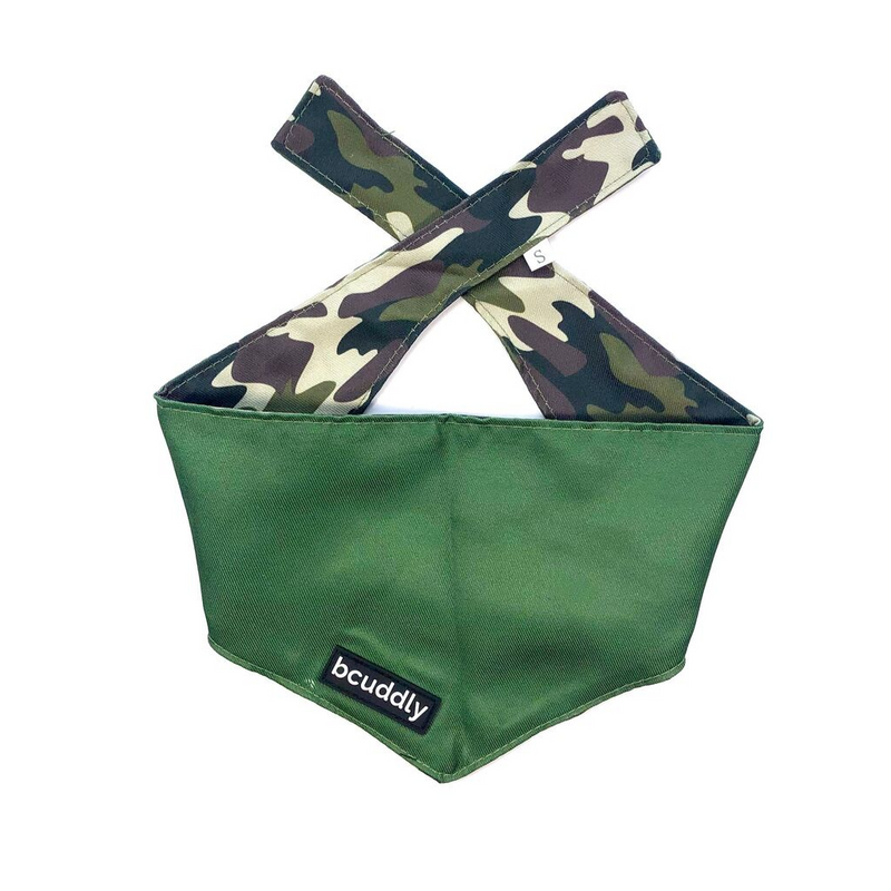 Dog bandana - Adventure Camo