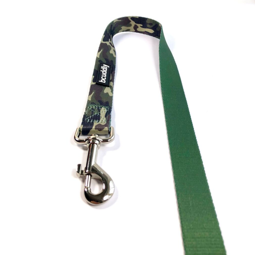Dog Leash - Adventure (Camo Olive Green) (6ft)