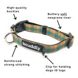 Cozy Plaid (Leash, Harness, Collar, Poop Bag Holder, Bandana)