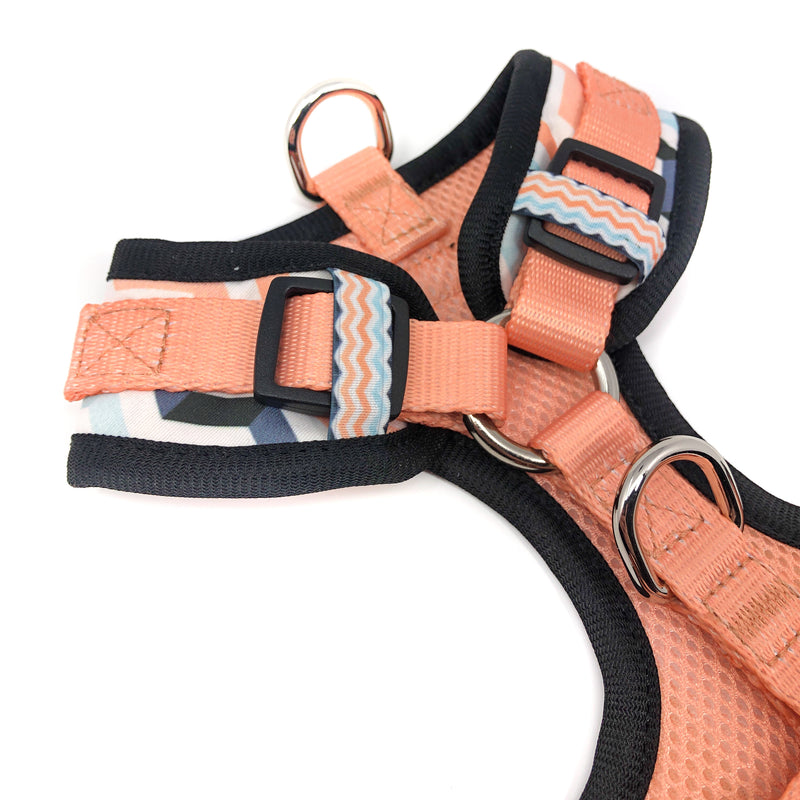 Control Dog Harness - Peach Wave