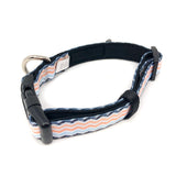 Dog Collar - Peach Wave