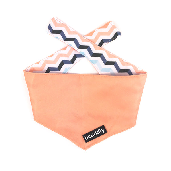 Dog bandana - Peach Wave