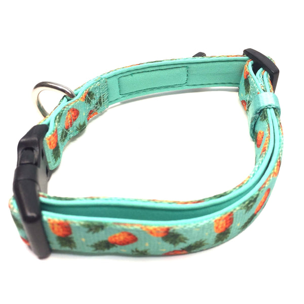 Dog Collar - Pineapple Party