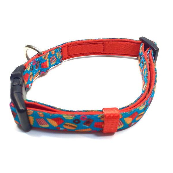 Dog Collar - Junk Food