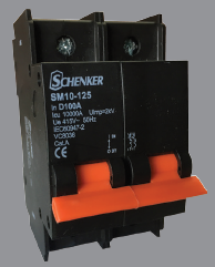Circuit Breaker - D CURVE Schenker (MINI RAIL): Isolator/Switch Disconnector