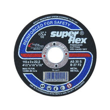 Load image into Gallery viewer, FLAT CUTTING DISC - SUPERFLEX