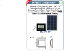Load image into Gallery viewer, Solar LED Floodlight