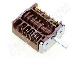 Heat selector switch:  5 POSITION SELECTOR SWITCH