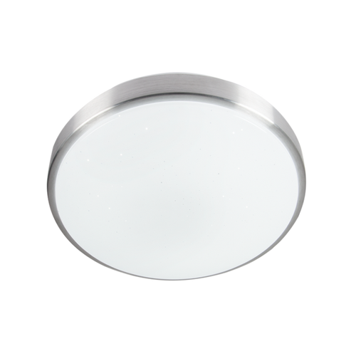LED Aluminium Fitting with Starlight Patterned Polycarbonate Cover