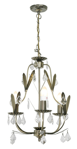 Antique Brass chandelier - CH104ABR