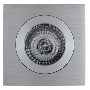 Downlight square straight CNC aluminium
