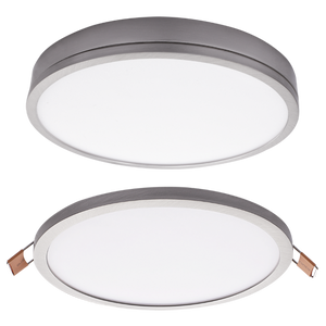 Surface Mounted or Recessed Slimline LED - DL075 SATIN