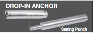 Drop-in Anchor