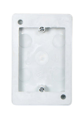 Open PVC/Steel - Extension wall box