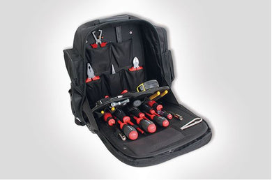 Electrician's tools backpack 20 piece