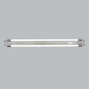 Fluorescent Fitting Wired for LED Tubes - FTL044 SATIN