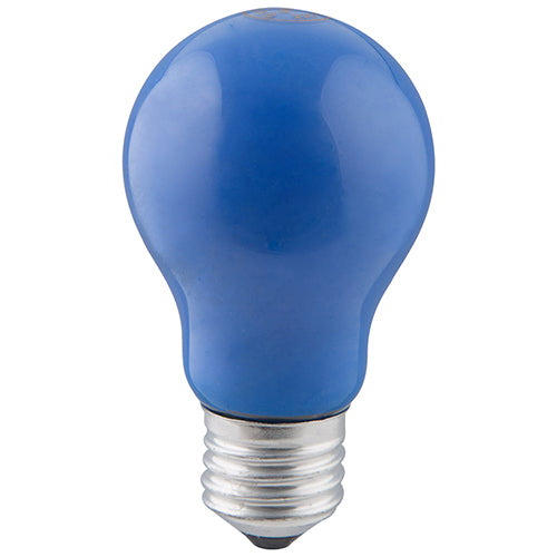 Coloured Globe E27 40w Blue