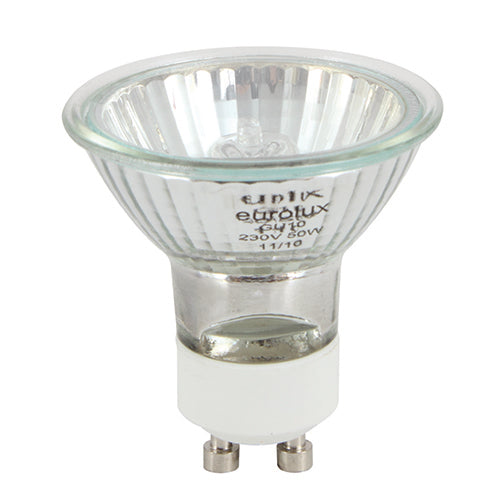 Halogen Ceramic Base GU10 50w 6Pc Blister / each