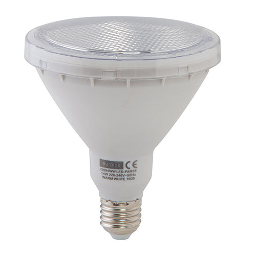 14W: LED PAR38 E27 - Warm White