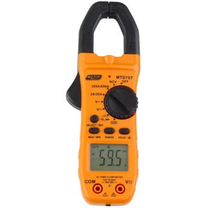True RMS 600A AC Clamp Meter