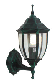 Lantern 6 Panel Up Facing V/Green - Outdoor