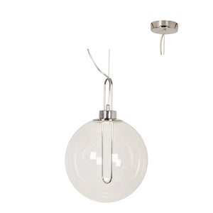 LED Pendant Glass Ball 300mm